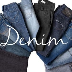 Denim - Check out my jeans!